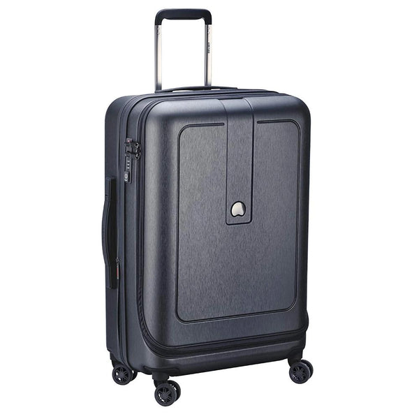 Delsey Grenelle 69/76cm 4 double wheels expandable trolley case - TRAVEL WITH US➜行李部