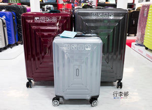 Mendoza-V ROOX Double zipper Large Volume Luggage 20/27/30 inch - TRAVEL WITH US➜行李部