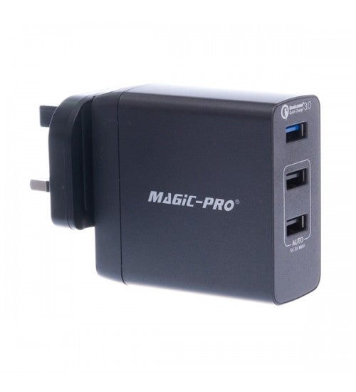 Magic-Pro ProMini 3TQ & ProMini 3TQC 旅行充電器 - TRAVEL WITH US➜行李部
