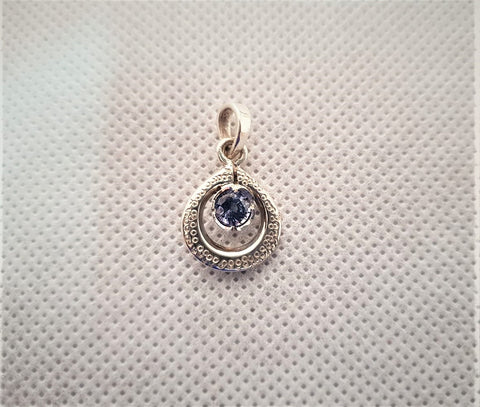 Spinel Drop Pendant