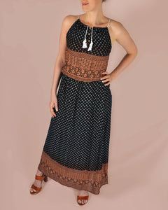 Etnic city long dress