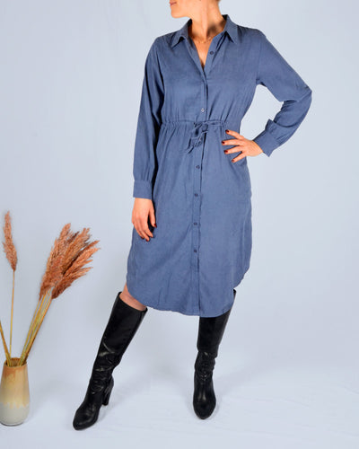 Jeans long sleeve dress