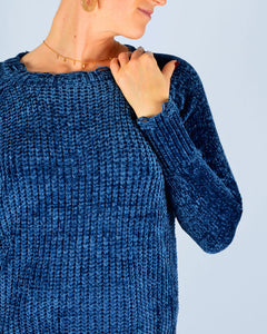 Midnight soft sweater