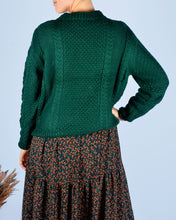 Afbeelding in Gallery-weergave laden, Green knit