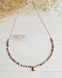 Luna natural necklace