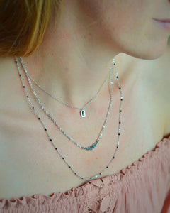 Primavera necklace silver