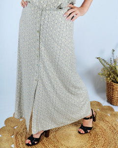 Golden spark elegance skirt