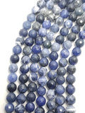"Sodalite (Round)(Faceted)(16""Strand)"