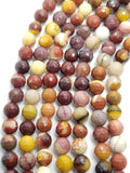 "Mookaite (Round)(Faceted)(16""Strand)"