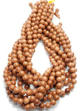 "Goldstone (Round)(Smooth)(16""Strand)"