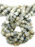 "Labradorite (Heishe)(Faceted)(16""Strand)"