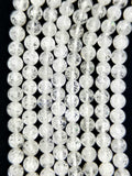 "Crackle Quartz (Round)(Smooth)(16""Strand)"