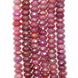 "Ruby (Rondelle)(Faceted)(17""Strand)"