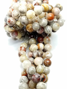 "Laguna Lace Agate (Round)(Smooth)(16""Strand)"