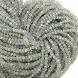 "Labradorite (Round)(Micro-Faceted)(2.5mm)(15""Strand)"