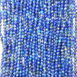 Lapis Lazuli Micro Faceted 3mm 4mm