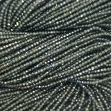 "Rainbow Obsidian (Rondelle)(Micro-Faceted)(3x2mm)(4x3mm)(5x3mm)(16""Strand)"
