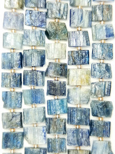 "Kyanite Raw (Free Form)(Rectangle)(16""Strand)"