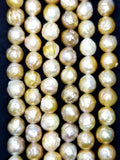"Baroque Pearls(Fresh Water)(Multi Color)(9mm)(15.5""Strand)"