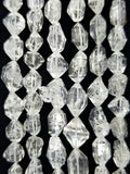 "Herkimer Diamonds Quartz (Free Form)(Lengthwise)(16""Strand)"