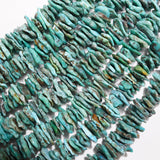 "Turquoise (Chips)(Free Form)(16""Strand)"