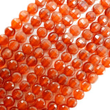 "Carnelian (Coin)(Micro-Faceted)(4×3mm)(15.5""Strand)"