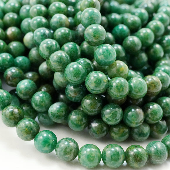African Jade (Round)(Smooth)(4mm)(6mm)(8mm)(10mm)(16