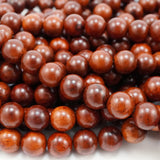 "Bayong Wood (Round)(Smooth)(6mm)(8mm)(10mm)(12mm)(16""Strand)"