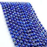 "Lapis Lazuli (Barrel)(Faceted)(8x7mm)(16""Strand)"