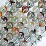 "Lodolite (Round)(Smooth)(8mm)(9mm)(10mm)(16""Strand)"