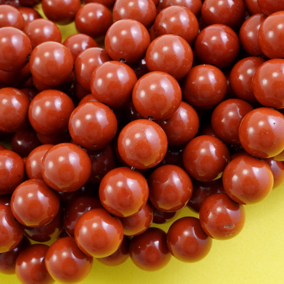 Red Jasper (Round)(Smooth)(6mm)(8mm)(10mm)(16