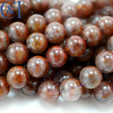 "Auralite-23 (Round)(Smooth)(8mm)(10mm)(16""Strand)"