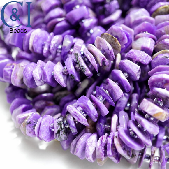 Charoite (Heishe)(Polished)(Raw)(16