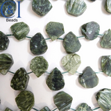 "Seraphinite (Teardrop)(Raw)(14mm)(16""Strand)"