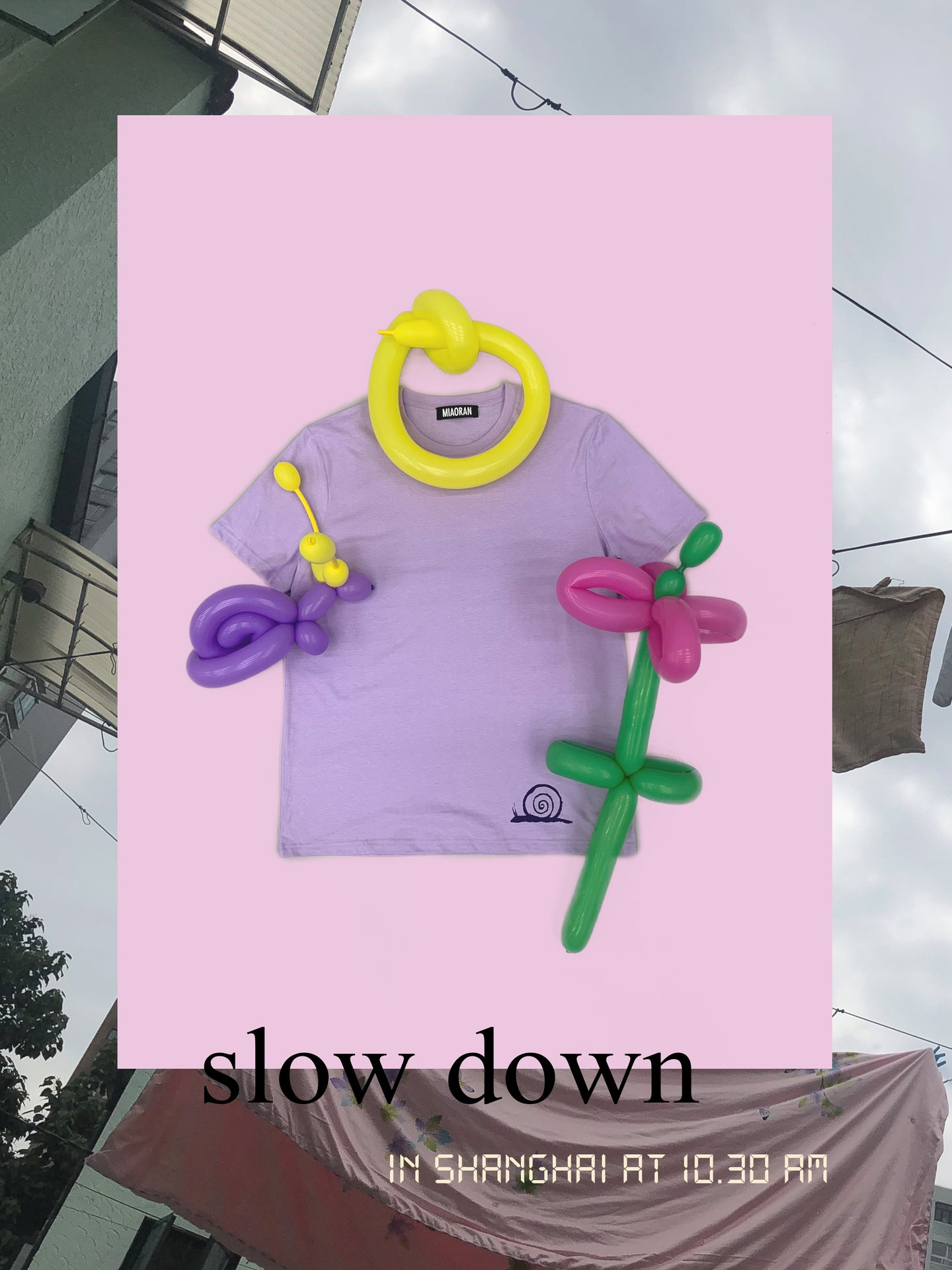 ''SLOW DOWN'' T-SHIRT