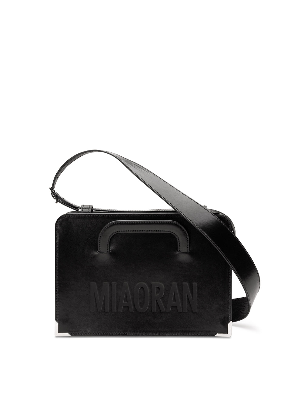 RAN BAG BLACK LEATHER