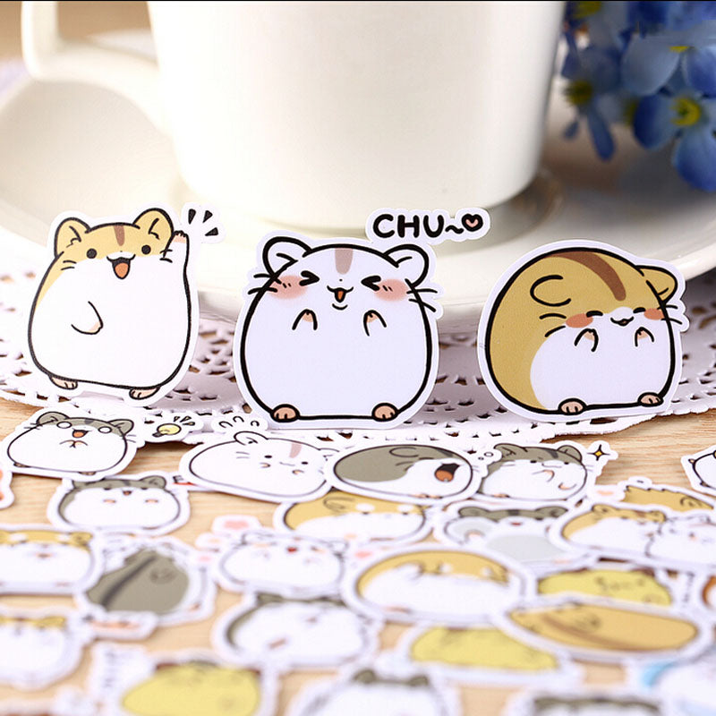 madtesttesttest - Kawaii Hamster Stickers