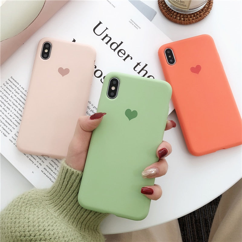madtesttesttest - Soft Matte Heart Case