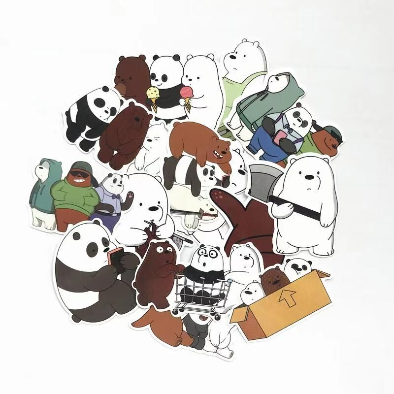 madtesttesttest - We Bare Bears Sticker Pack