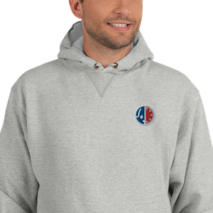 USA Embroidered Champion Hoodie (DUSTY)