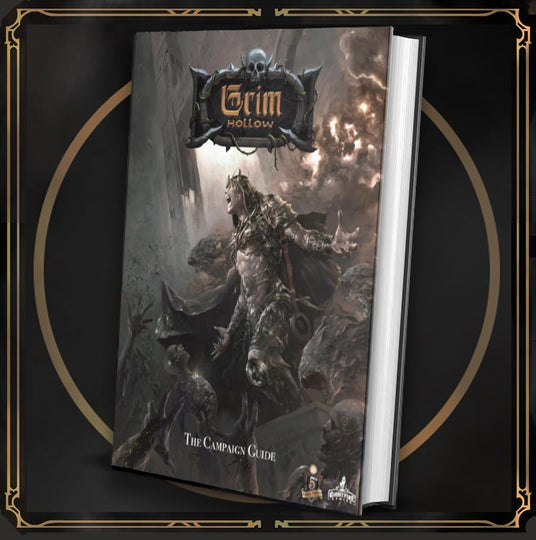Grim Hollow: The Campaign Guide Hardcover Book