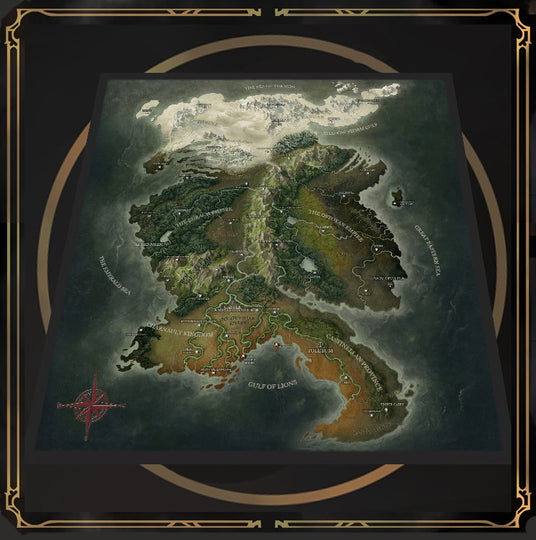 Grim Hollow: Fabric Map Of Etharis