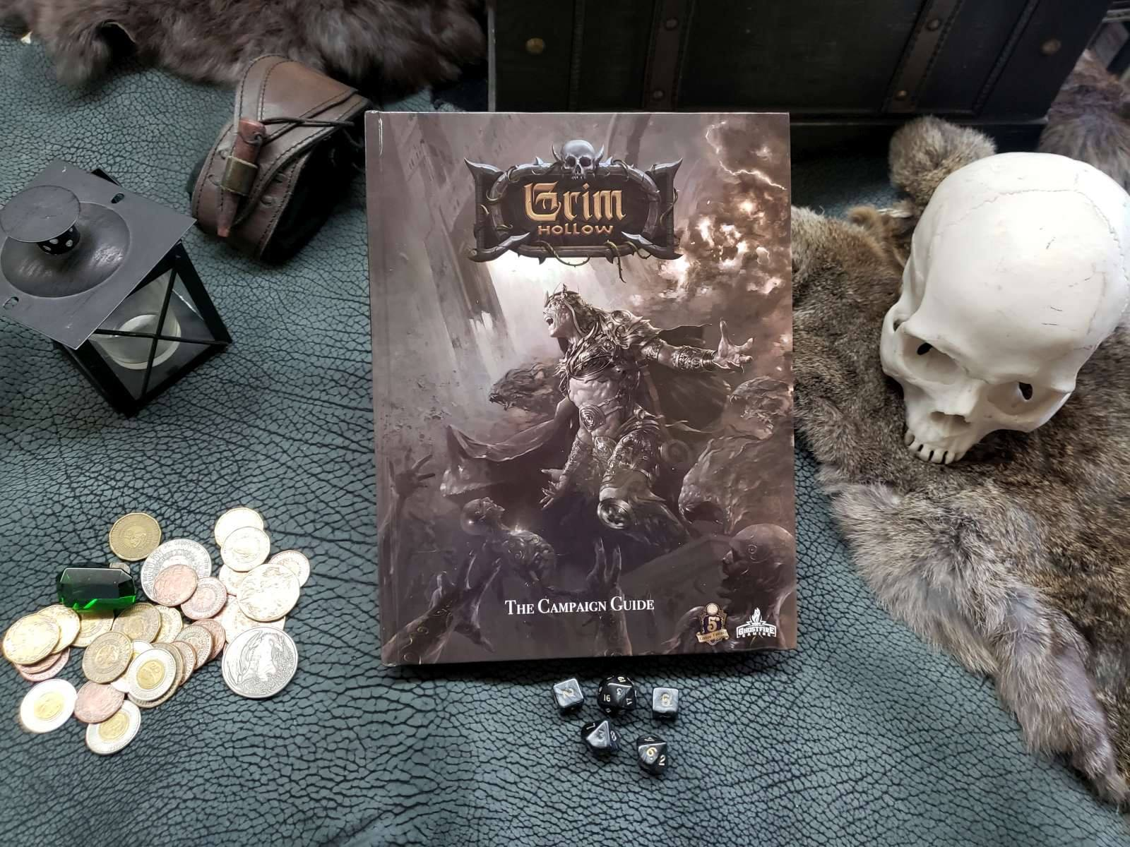 Grim Hollow Campaign Setting: Hard Cover Book