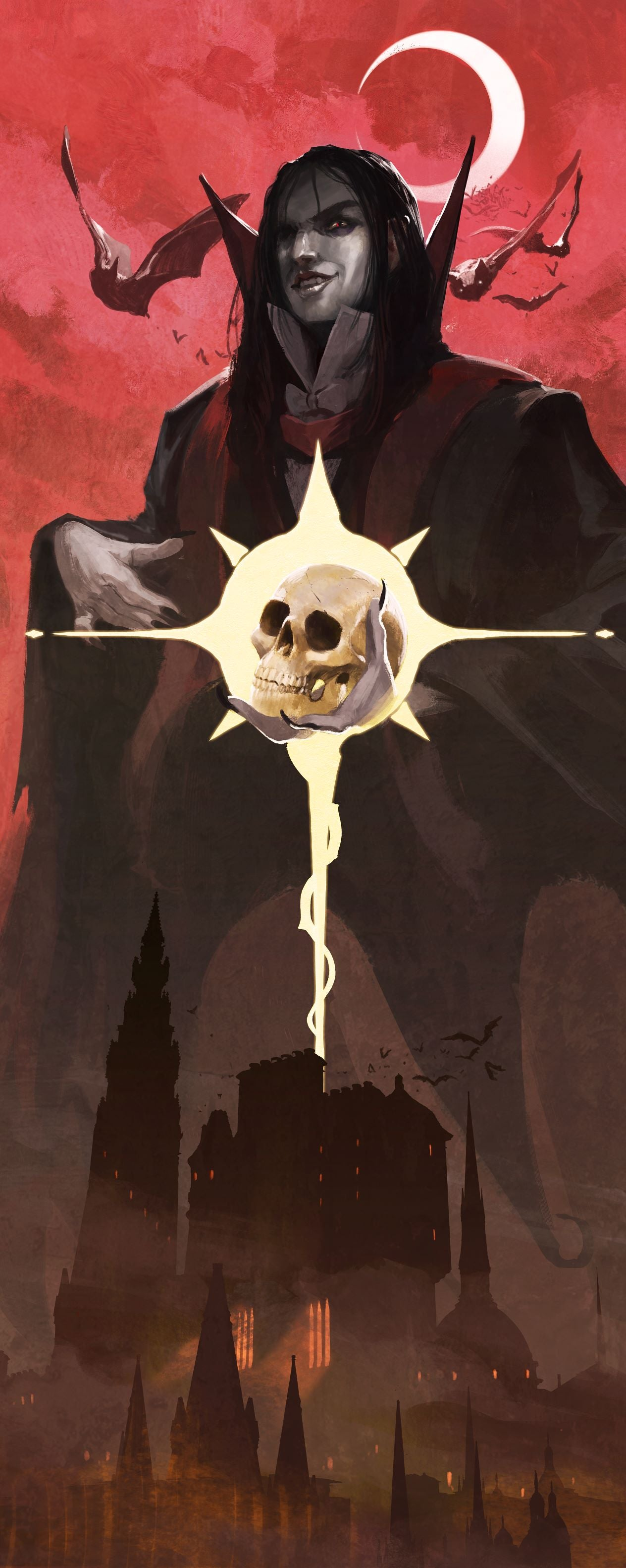 Grim Hollow: Wall Banner