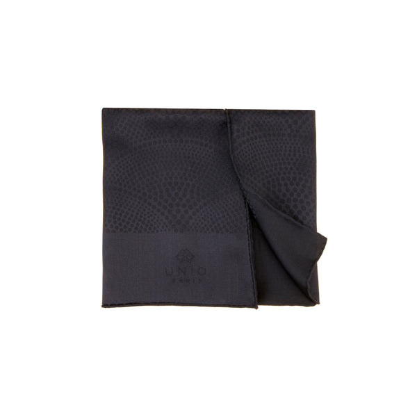 Duna Black Coal Scarf