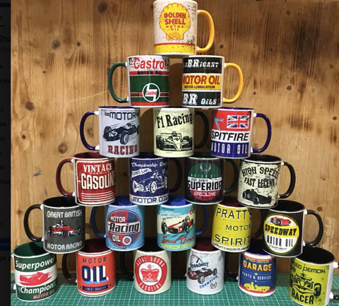 11oz Two Tone Mugs