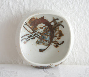 Royal Copenhagen NILS THORSSON DIANA Small Fish Porcelain Bowl - Mollaris.com