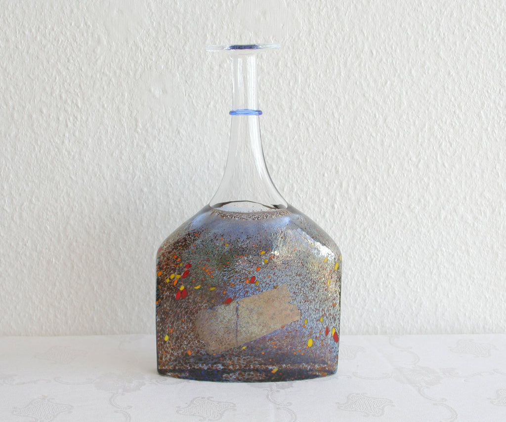 Kosta Boda BERTIL VALLIEN Large Satellite Bottle Glass Vase - Mollaris.com