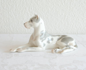 LOMONOSOV Great Dane Porcelain Sculpture - Mollaris.com
