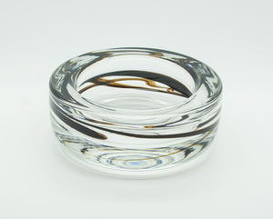 MICHAEL BANG Holmegaard TUNDRA Glass Bowl - Mollaris.com